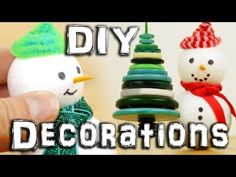 10 Christmas Decorations You Can Easily Make From Recycled Materials Holiday Crafts Christmas Christmas Decor Diy Holiday Crafts