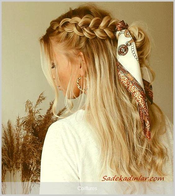#coiffures - 2020 Örgü Saç Modelleri | SadeKadınlar, Kıyafet Kombinleri #sac #sacmodelleri #örgüsac #sacörgüsü #bayansacmodelleri #hair #hairstyle #topuzsac #dagınıktopuz #topuzsac