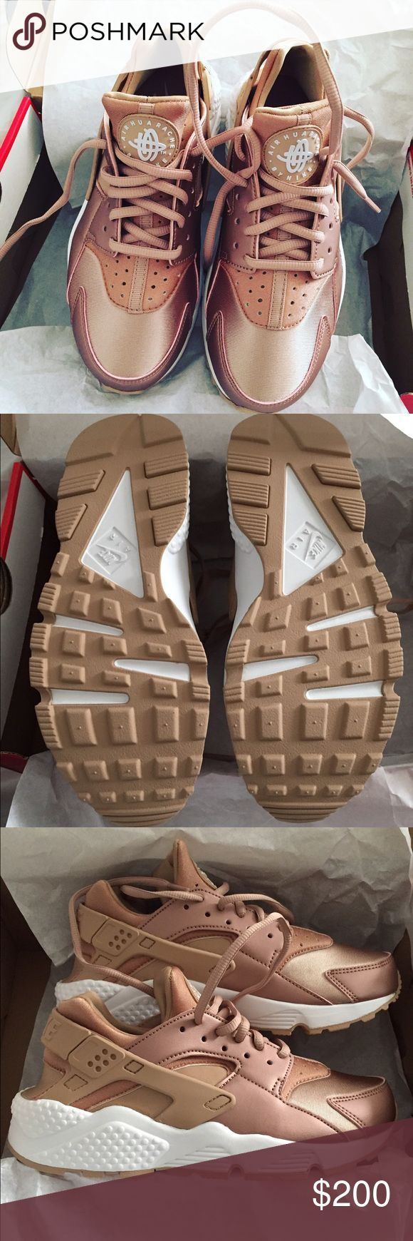 finest selection 9a24f 20b3a Trendy Sneakers 2017  2018   Nike Rose gold Huarache . Limited edition  Brand new never worn Nike limited edit