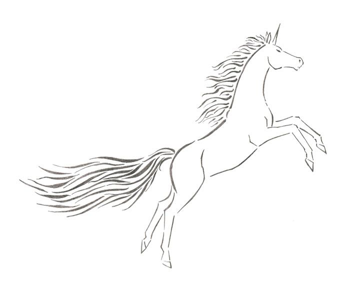 Unicorn Jumping Coloring Page For Kids Coloring For Kids Coloring Pages Color