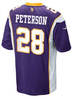 finest selection 6d1ad cd6c5 Youth Nike Game Home Adrian Peterson Jersey | Jerseys ...
