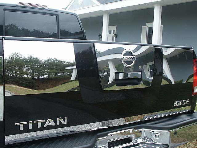 Qaa Part Tgh24521 Fits Titan 2004 2013 Nissan 4 Pc Rear Tailgate Handle Trim 11 75 Wide 2 4 Products Nissan Titan 2015 Nissan Titan Nissan