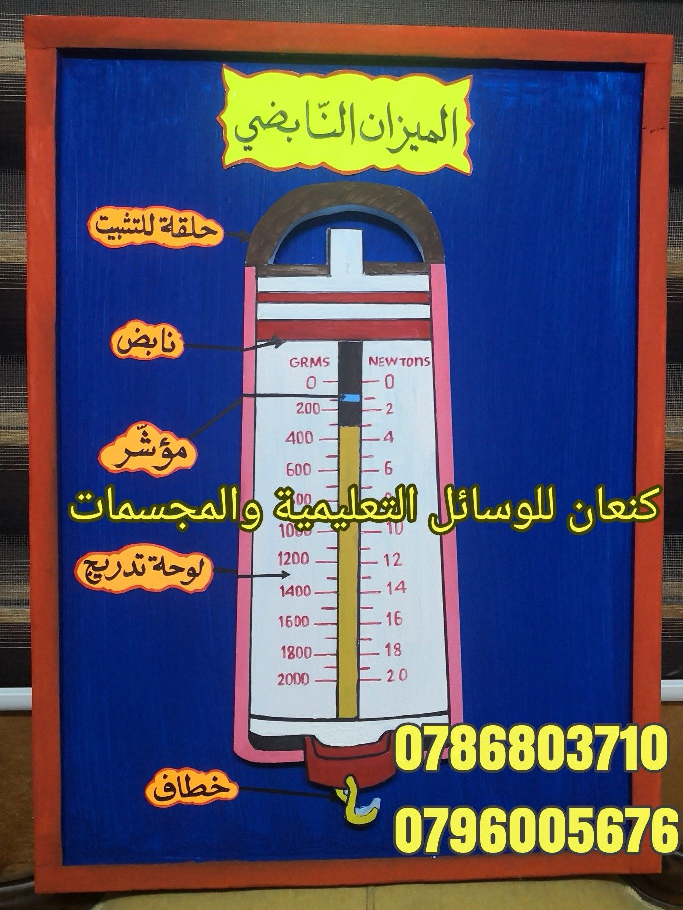 اجزاء الميزان النابض Education School Projects To Try