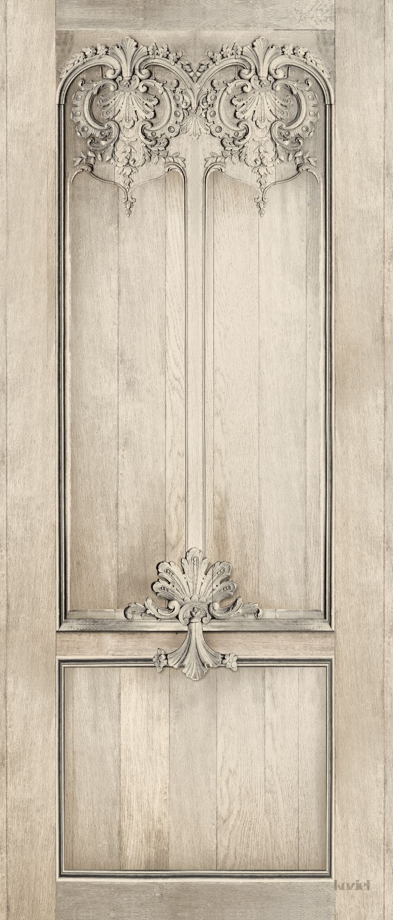 French trompe l 39 oeil wallpaper by christophe koziel for Wallpaper closet doors