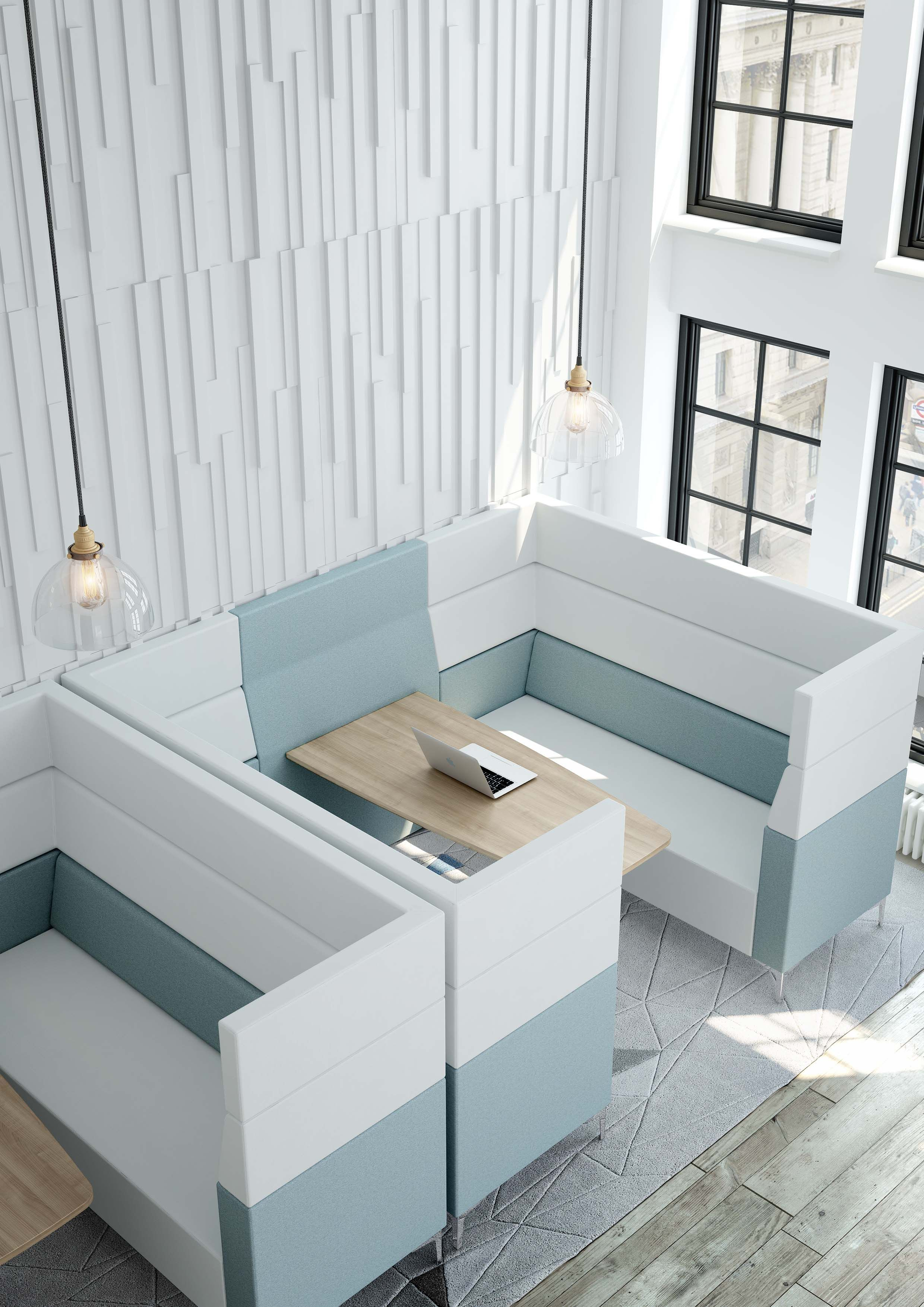 High Back Tub Sofa Evo Plus High Back Breakout Sofa Booth From Elite Office