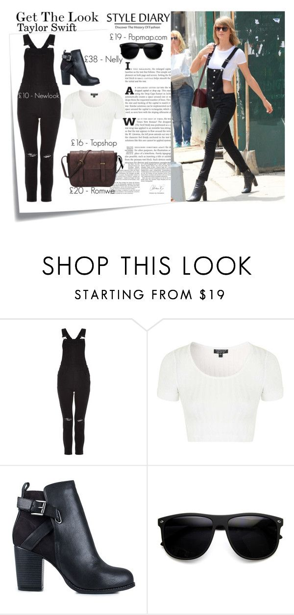 """""""Get the Look : Taylor Swift"""" by blushingfreckles ❤ liked on Polyvore featuring Post-It, Topshop and Nly Shoes"""