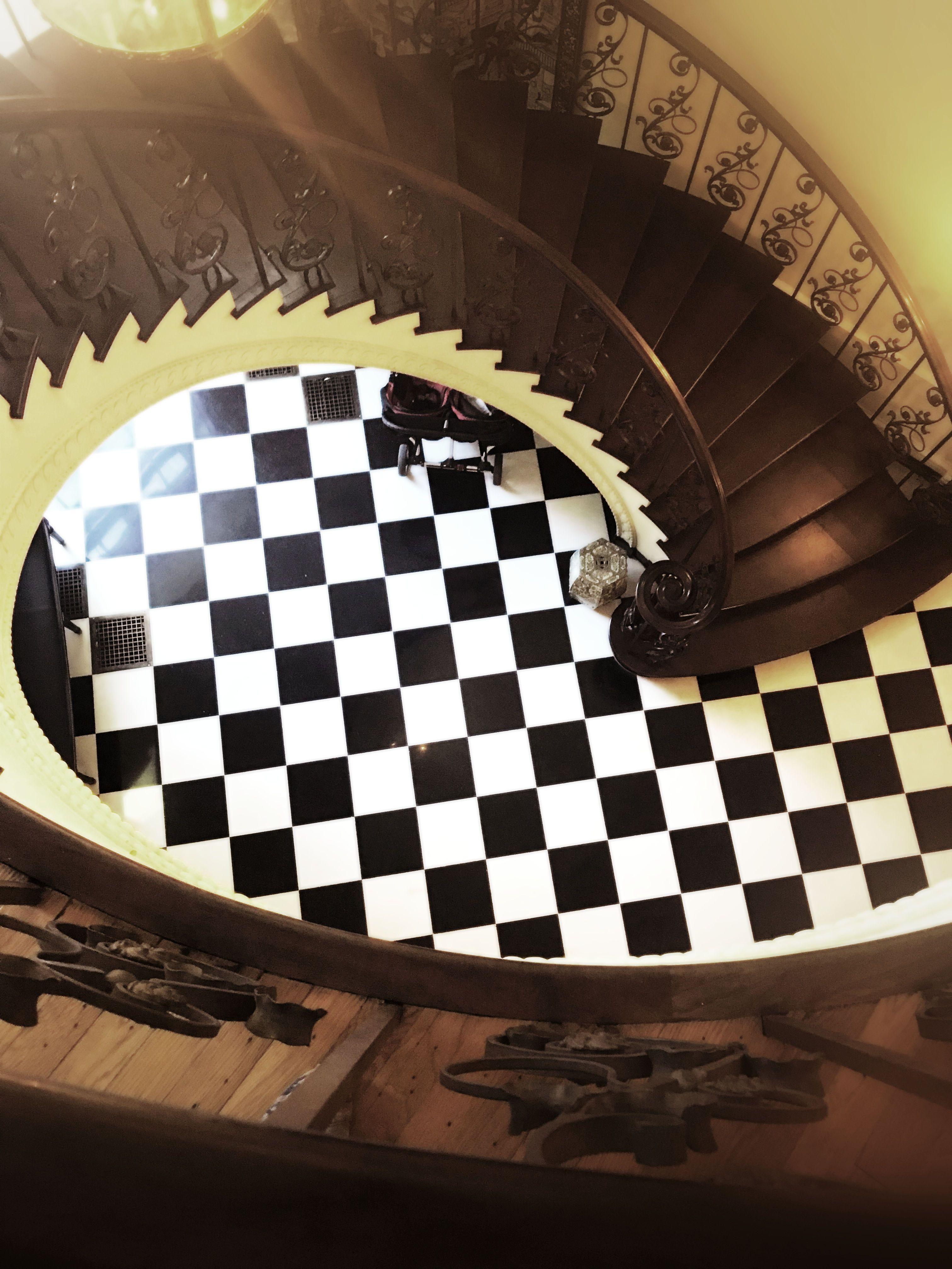 Grand #Spiral #Staircase #Swan #House #Atlanta