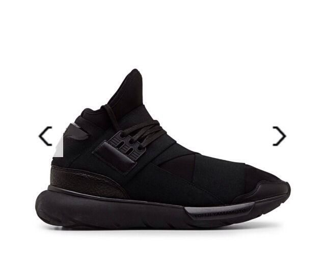 2a5ca166436e1 Adidas Y-3 y3 Qasa black Worn By Kanye Yohji Yamamoto Rick Owens yeezy All  Sizes  Y3  Casual