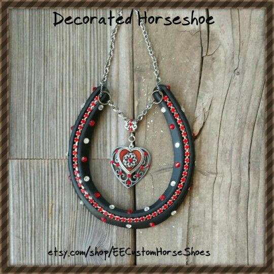 One Of Our Popular Decorated Horseshoes That Will Be On Sale Nov