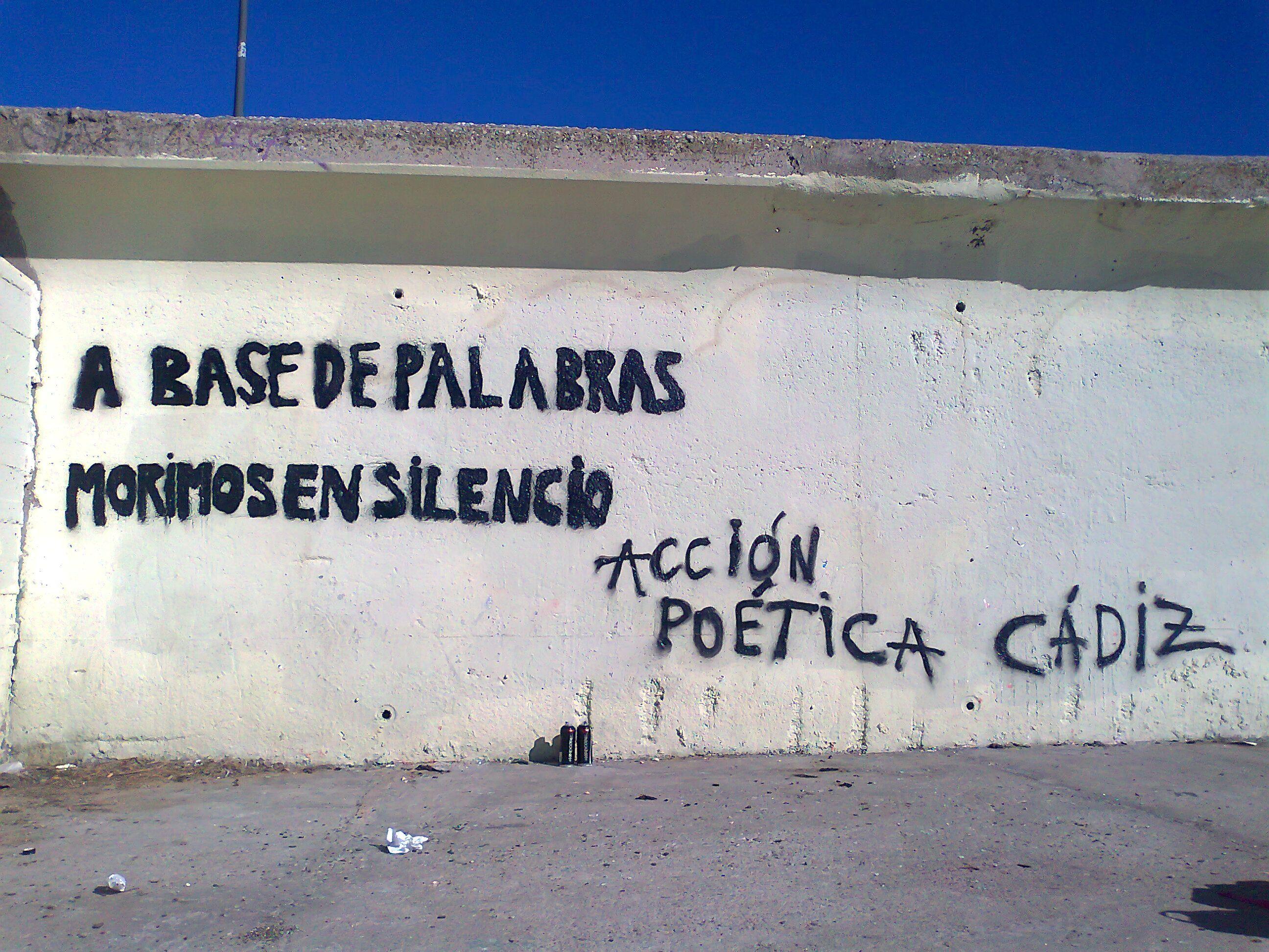 A Base De Palabras Morimos En Silencio Frases Accion