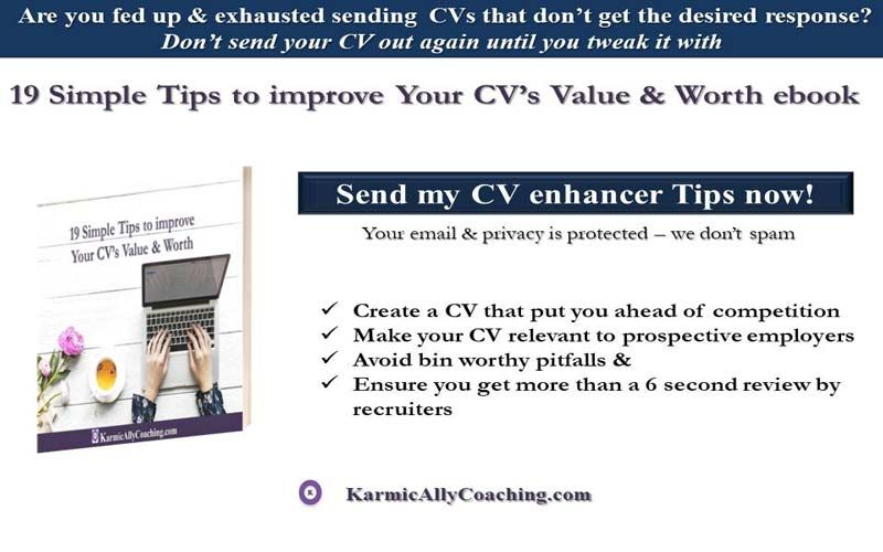 Cv Tips For Job Seekers Career Tips Advice Resources For