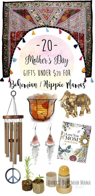 20 Mother's Day Gifts Under $20 for Bohemian/Hippie Mamas | Hippie ...