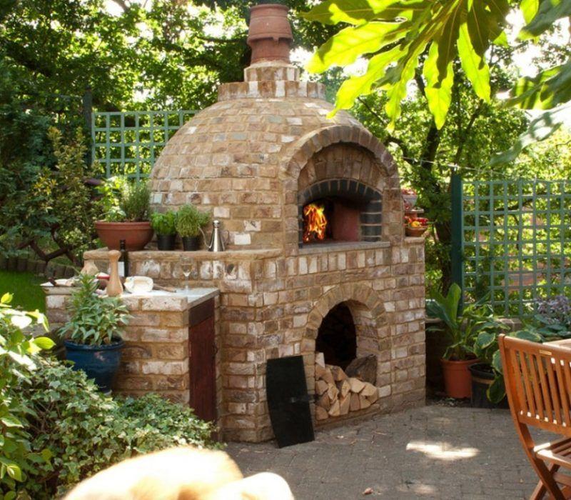 Garten Backofen Selber Machen Basteln Brick Oven Outdoor Pizza