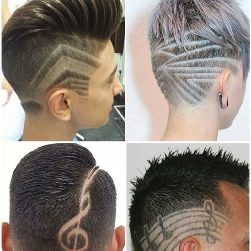 Hair Design Carving Magic Refined Steel Razor Pen Barber