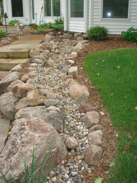 Dry Streams Creeks Installation San Antonio Small Backyard Landscaping Lawn Decor Garden Architecture