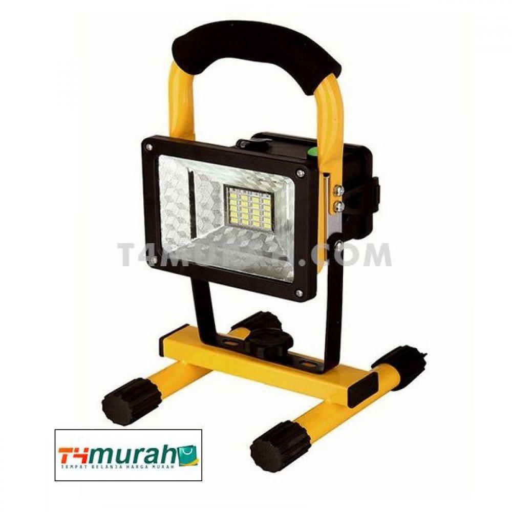 Lampu Sorot Taman Led Flood Lights 30w Rechargeable Portable Model Kotak Lampu Sorot Lampu Lampu Led