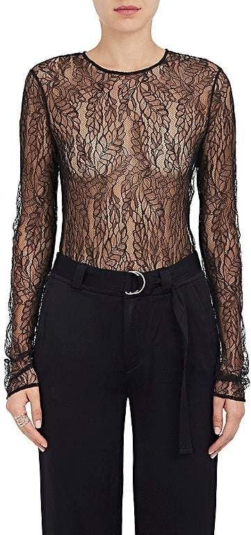 A.L.C. Women s Lace Long-Sleeve Bodysuit  cfa19bcc2