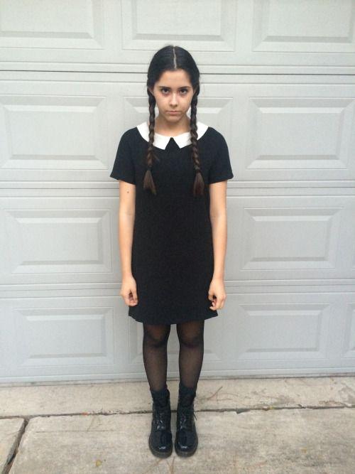 resultado de imagen de miercoles addams costume - Halloween Costumes Wednesday Addams