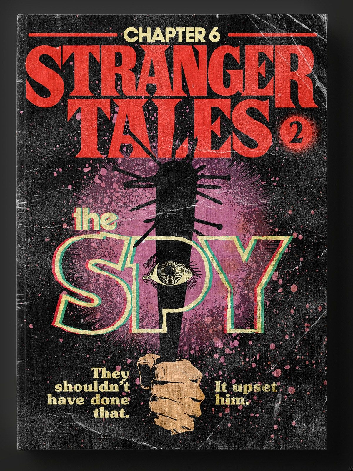 Photos Stranger Things Inspires Awesomely 80s Book Covers