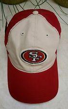 SF Reebok RBK NFL  FOOTBALL XL BASEBALL CAP SAN FRANCISCO 49ERS NWT VINTAGE LOOK