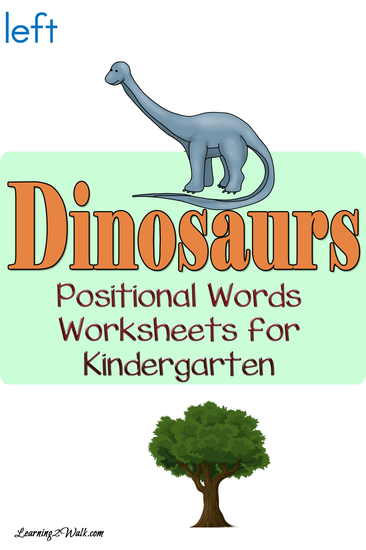 Dinosaur math worksheets topsimages who doesnt love dinosaurs enjoy these dinosaurs positional words worksheets for kindergarten png 1000x1500 dinosaur math ibookread Download