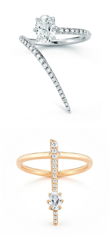 3 Stone Diamond Rings Equal Size