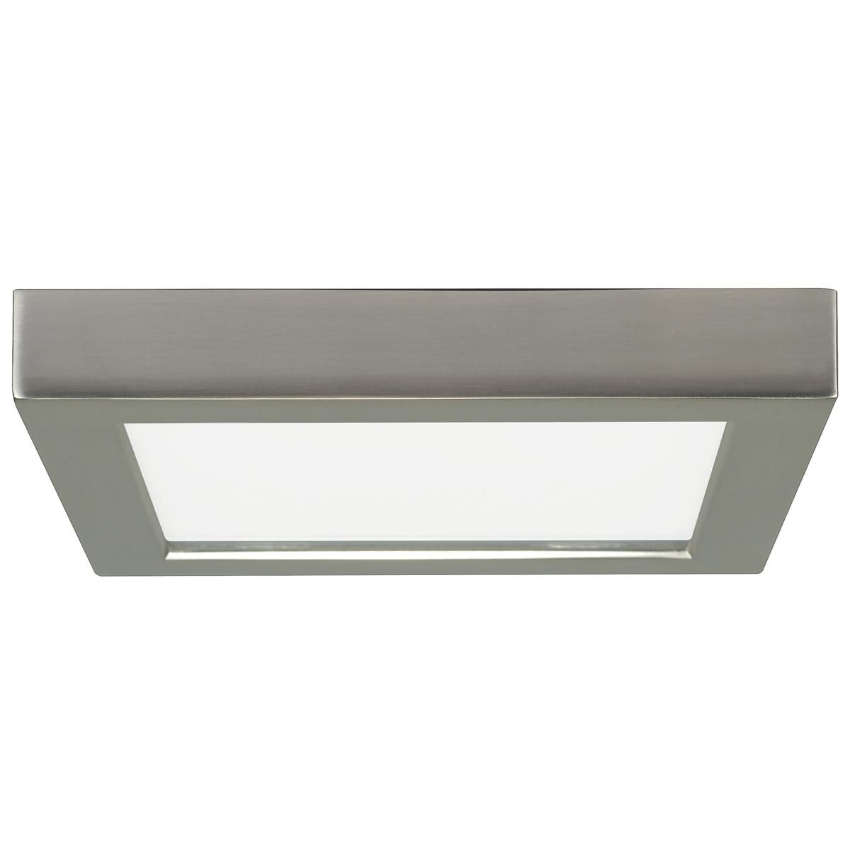 7 Led Simple Square Low Profile Ceiling Light