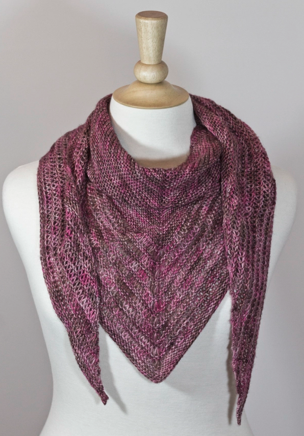 One Skein, No Purl Scarf | Knit scarf patterns, Stress reliever and ...