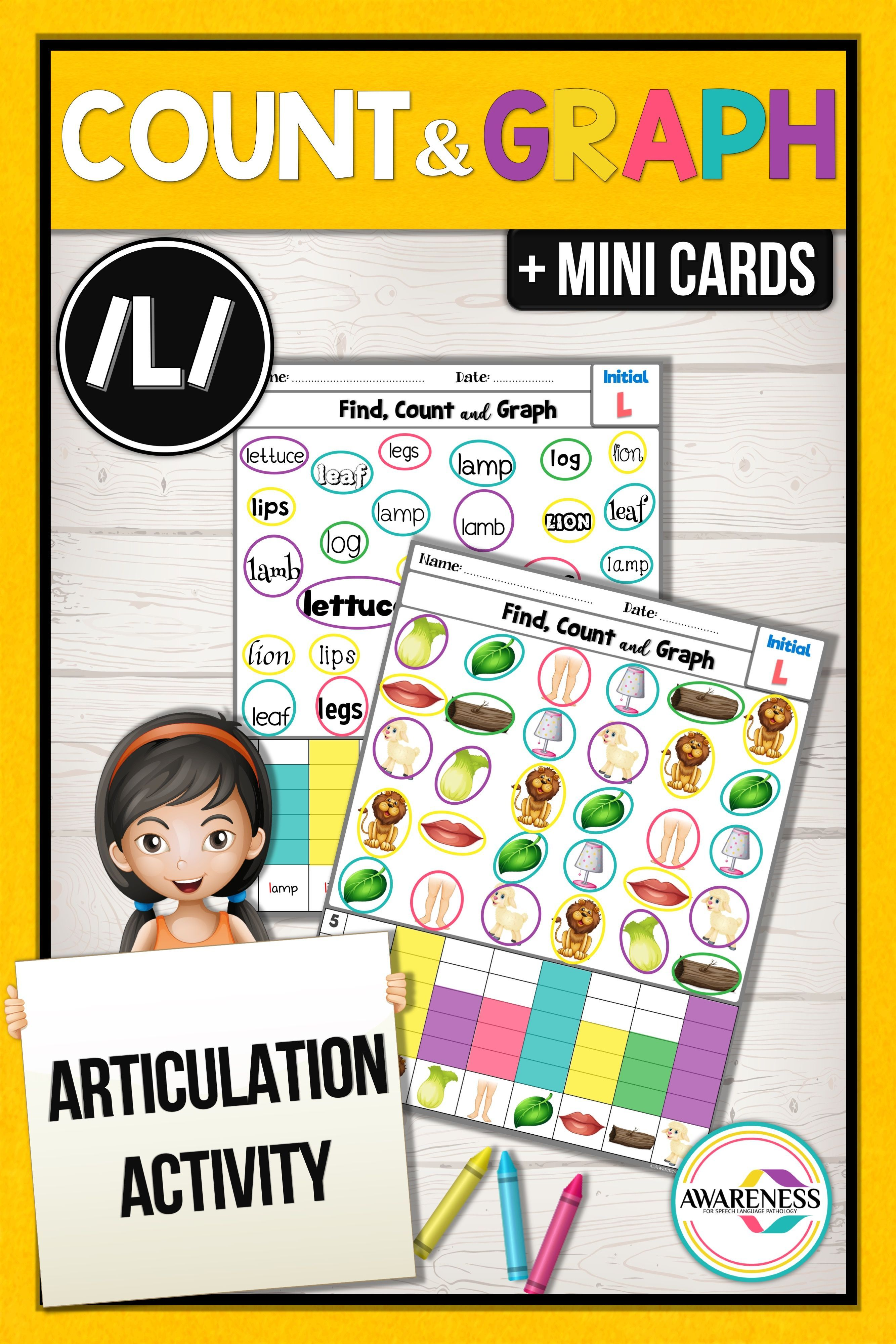 L Articulation Activities Worksheets For Speech Therapy