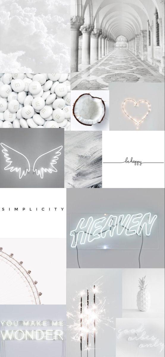 White Aesthetic Wallpaper Iphone Wallpaper Tumblr Aesthetic Aesthetic Wallpapers Aesthetic Pastel Wallpaper