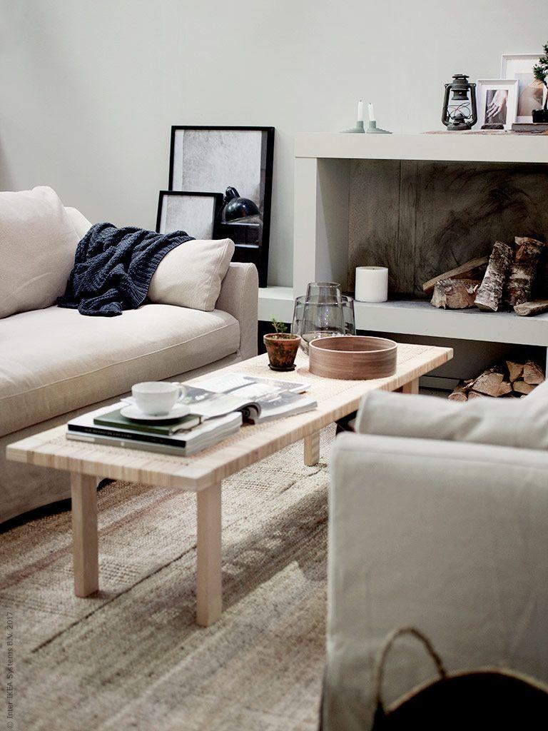 fÄrlÖv 3-sits soffa, stockholm 2017 soffbord, lohals matta, ikea