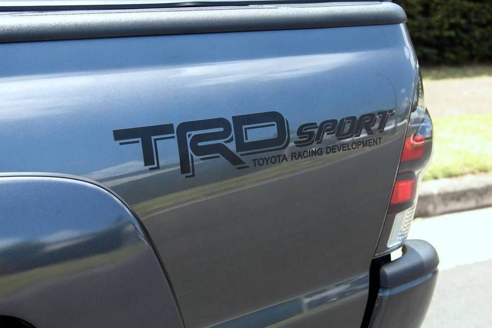 TRD SPORT Decals Toyota Racing Truck Bed Vinyl
