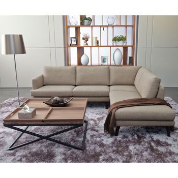 Cheap Sofas Violino Cavallo Brown Sectional with Chaise http costco ca