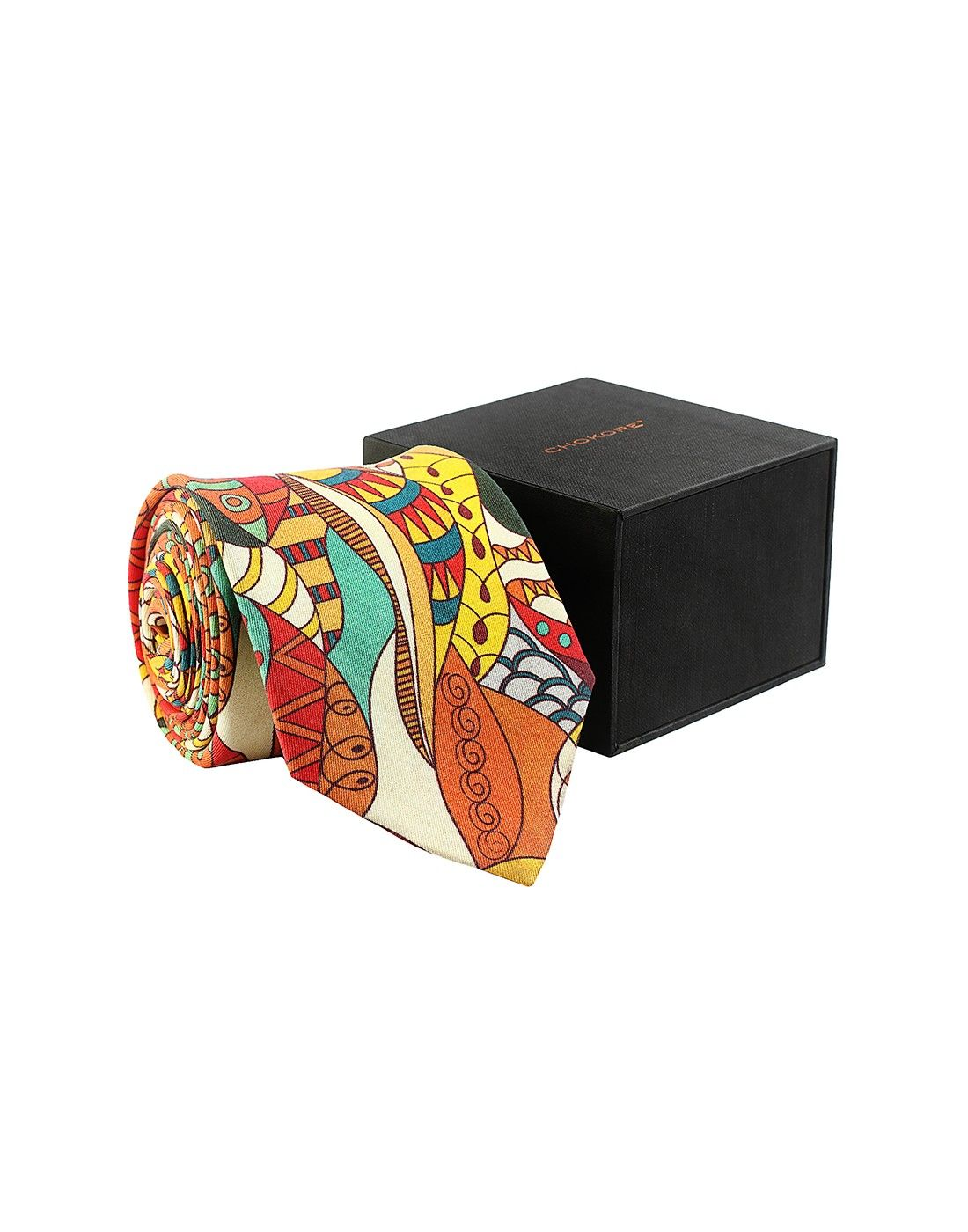 Multicoloured Silk Tie - Tie - Shop By Product - Fashion Accessories