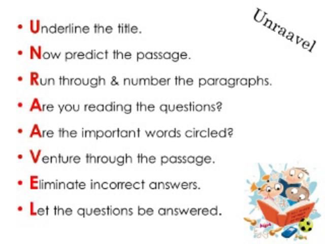 unraavel reading strategy powerpoint