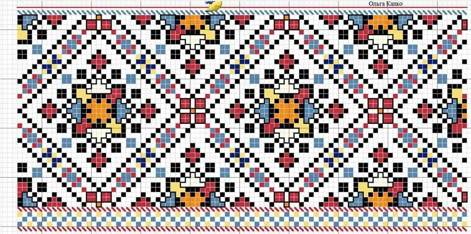 Покутська сорочка схема Стібки Вишивки 0a98023b34c8f