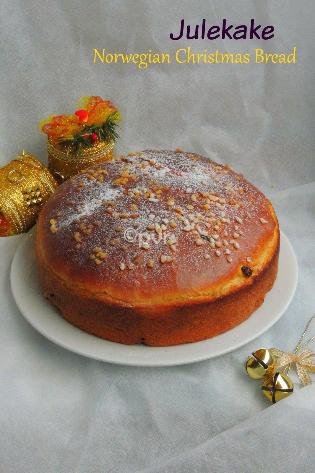 Julekake Version 2 - A Norwegian Christmas Bread | Bread, Roti ...