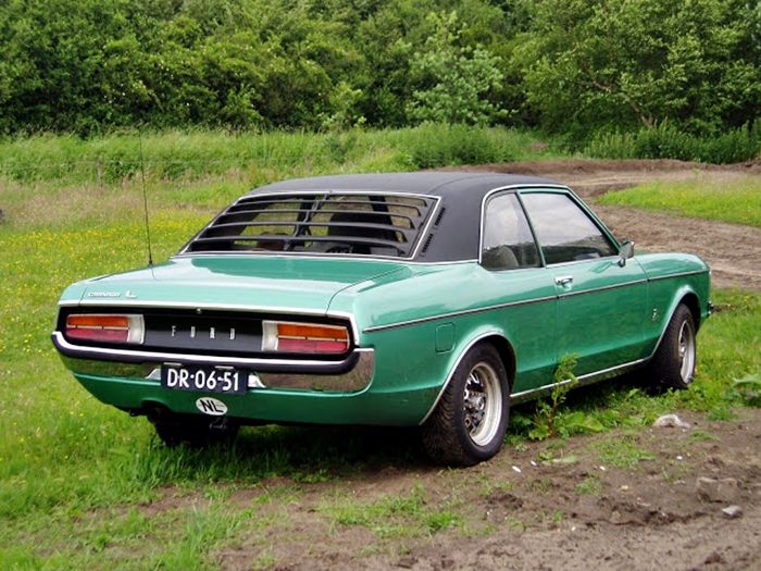 1973 Ford Granada 2 0l 2 Door Saloon Carros