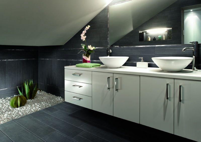 Faïence salle de bains u2013 88 des plus beaux carrelages design venant