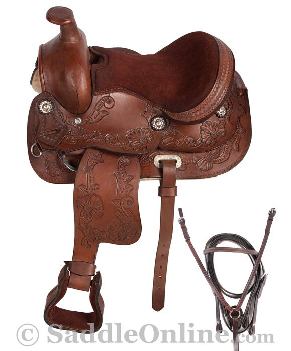 New Western Pony Kids Saddle Tack 10 Kids Saddle Mini Horse Pony Saddle