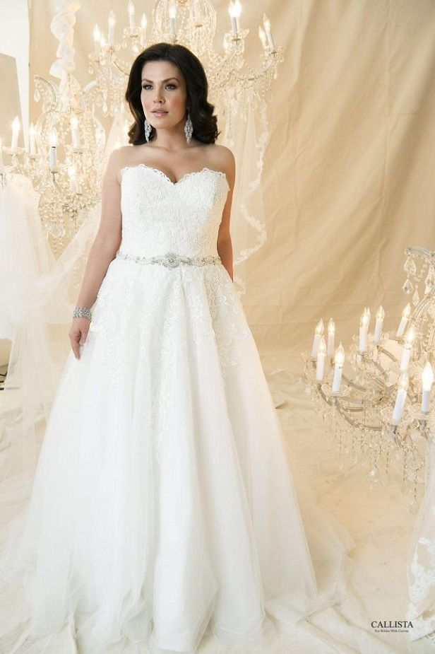 Francesco I Callista Plus Size Wedding Dresses Prin Plus Size