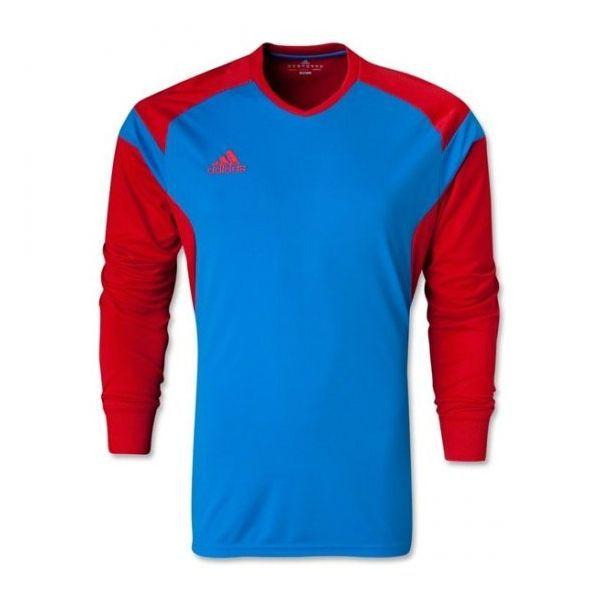 adidas Men's Precio 14 GoalKeeper Jersey Bright Blue/Collegiate Red