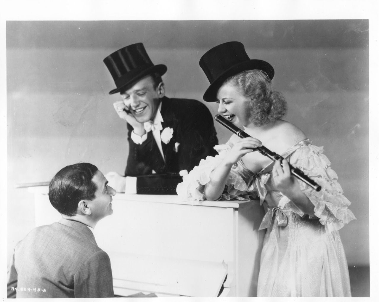 Irving Berlin, Fred Astaire and Ginger Rogers 1930's