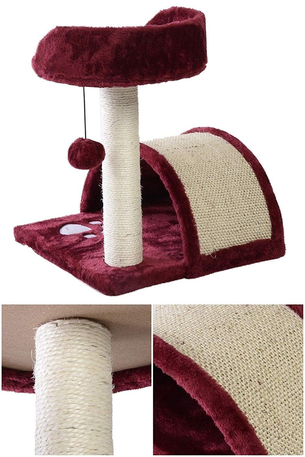 First Class Popular 18 Cat Tree High Stability Furniture Level Condo Color Wine To View Further For This Item Visit The Image Link This I Zhivotnye Mebel