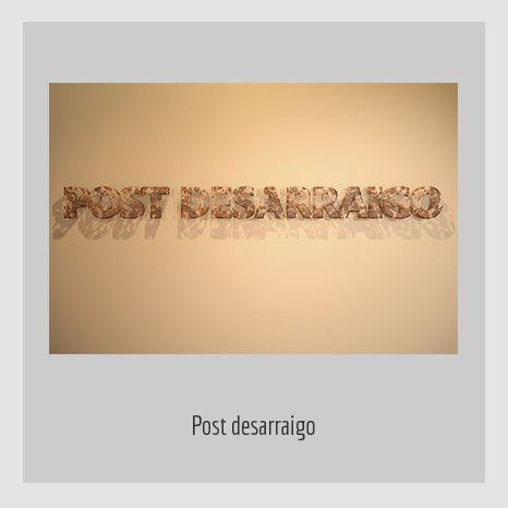 POSTDESARRAIGO. YENY CASANUEVA Y ALEJANDRO GONZÁLEZ. PROYECTO PROCESUAL ART.