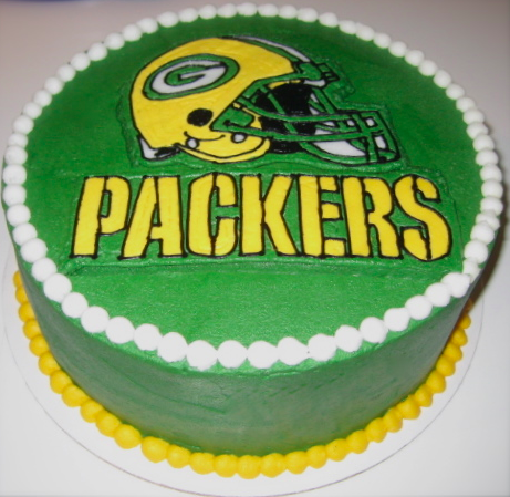 Cupcakes With Attitude Greenbay Packers Cake Green Bay Packers Cake Packers Cake Green Velvet Cake