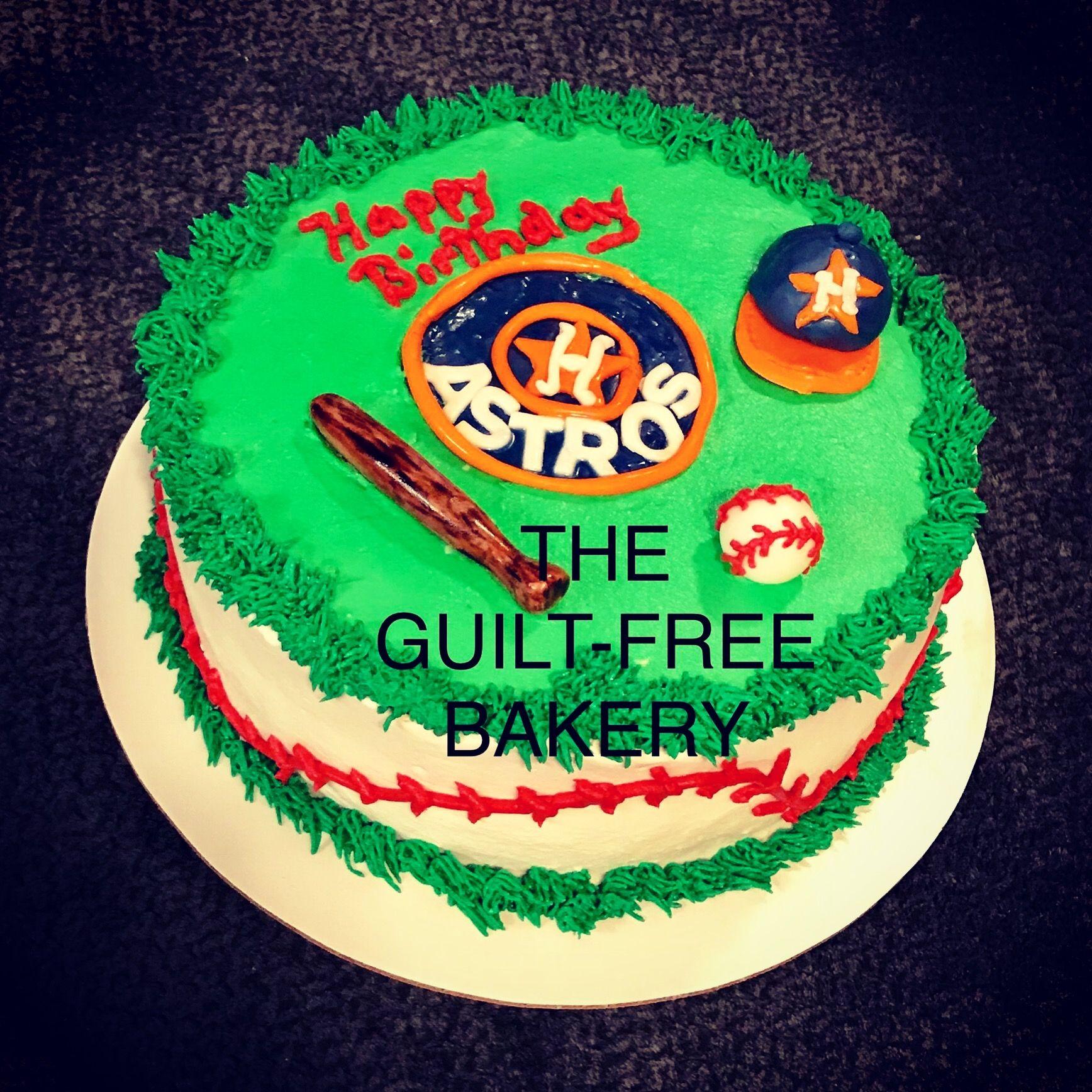 Houston Astros Birthday Cake