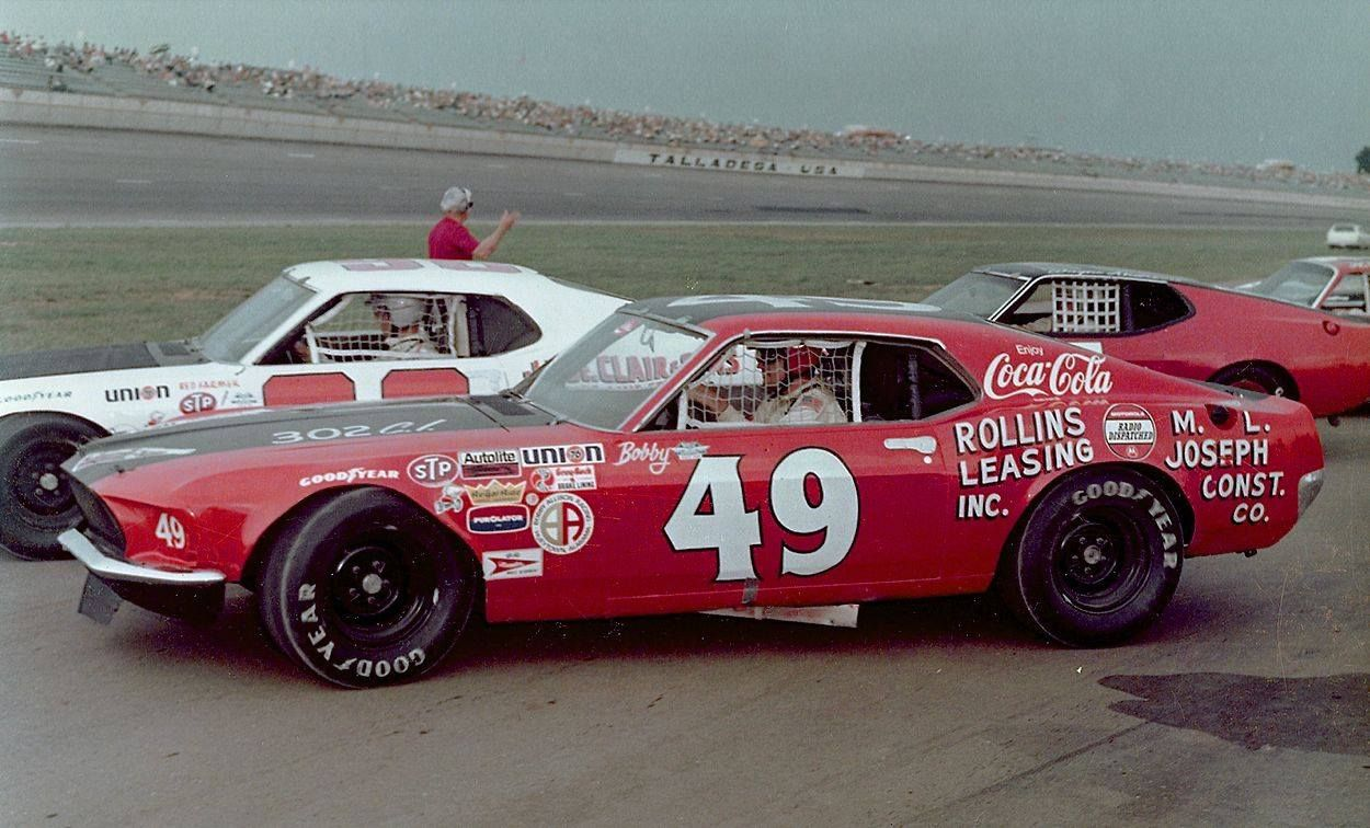 Yes NASCAR - Bobby Allison\'s Holman Moody Grand American Mustang ...