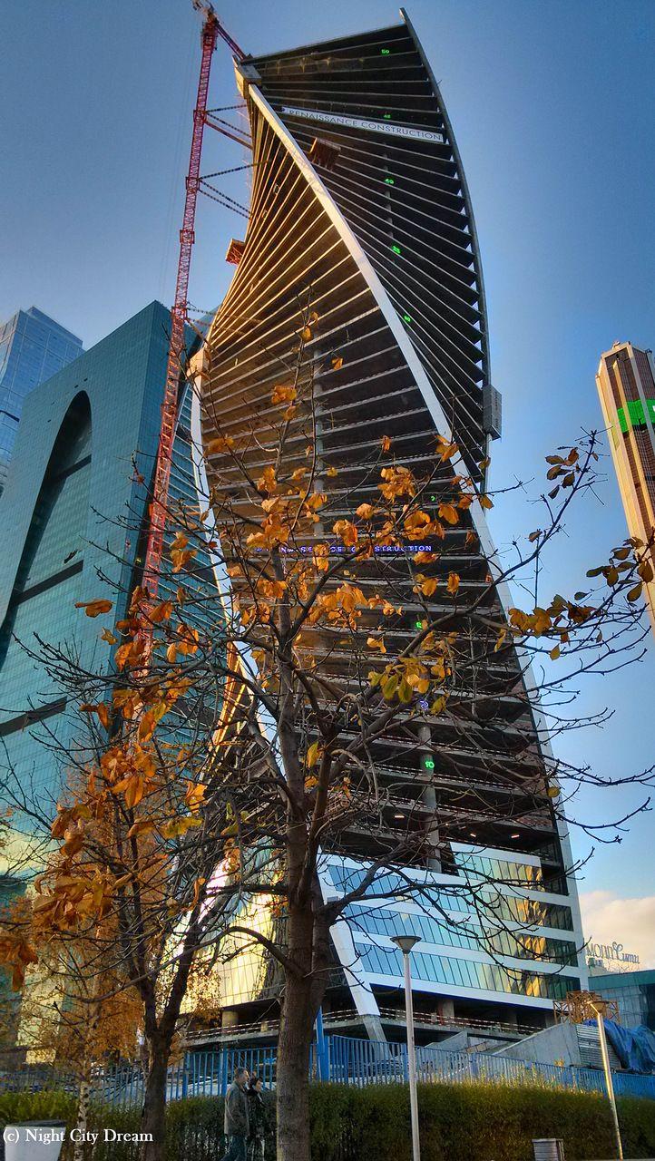 MOSCOW Evolution Tower Organic ArchitectureBuilding