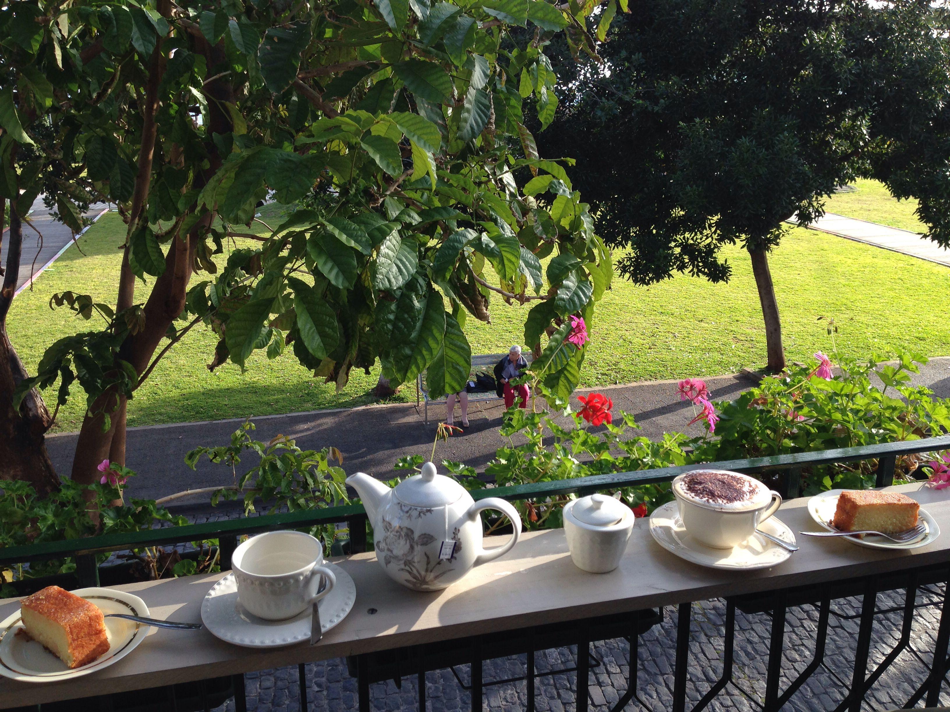 Tea time à Funchal